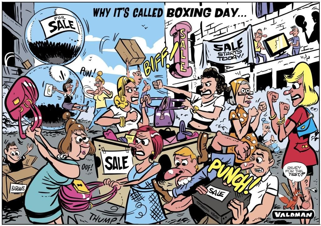 """Why it's called """"Boxing Day"""""""
