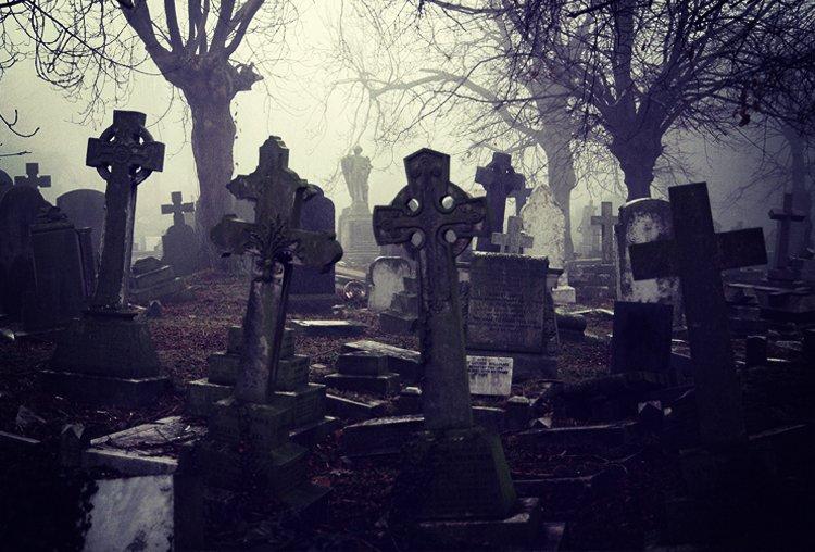 Cemetery Scare