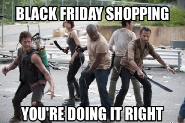Black Friday One-Liners