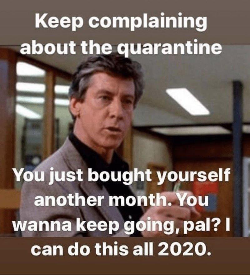 Quarantine….
