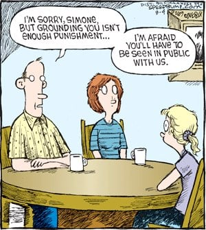 Parents Payback of Family Day…